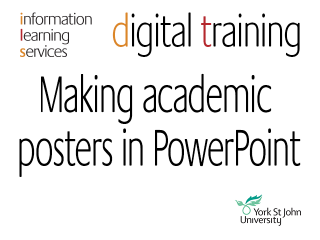 PowerPoint Posters